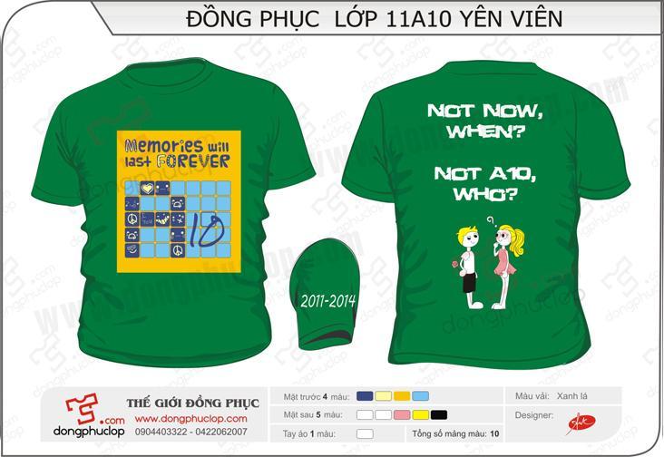 Địa chỉ làm áo đồng phục lớp tại Thái Nguyên